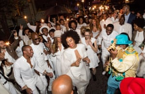 Solange Knowles at her wedding in 2014.