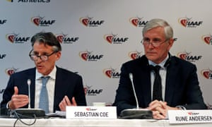 Sebastian Coe, the IAAF's president, and Rune Andersen, head of the IAAF taskforce on Russia, outline the organisation's latest findings.
