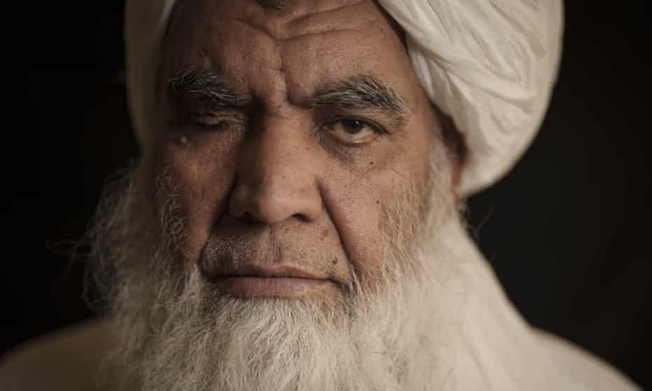 Taliban leader Mullah Nooruddin Turabi. 'No one will tell us what our laws should be. We will follow Islam'