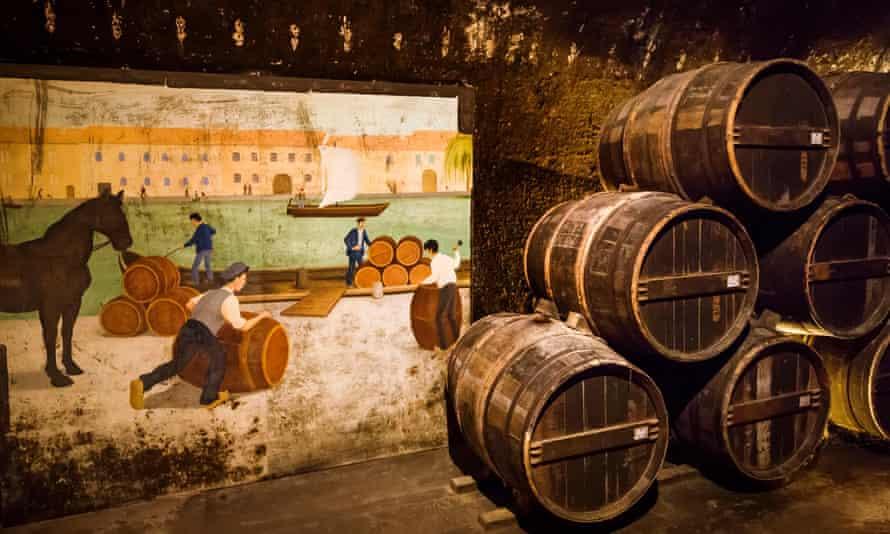 Barrel cellar house Baron Otard, Chateau Francois 1st, Cognac Charente
