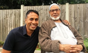 Aminul Hoque with his father, Shamsul, in A Very British History