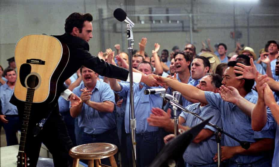 As Johnny Cash in Walk the Line.