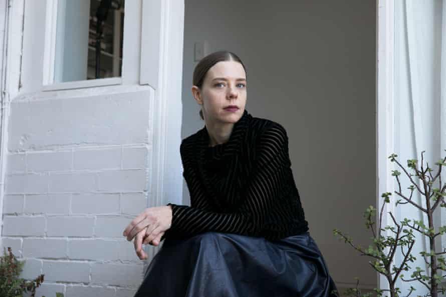 Bianca Spender in her studio