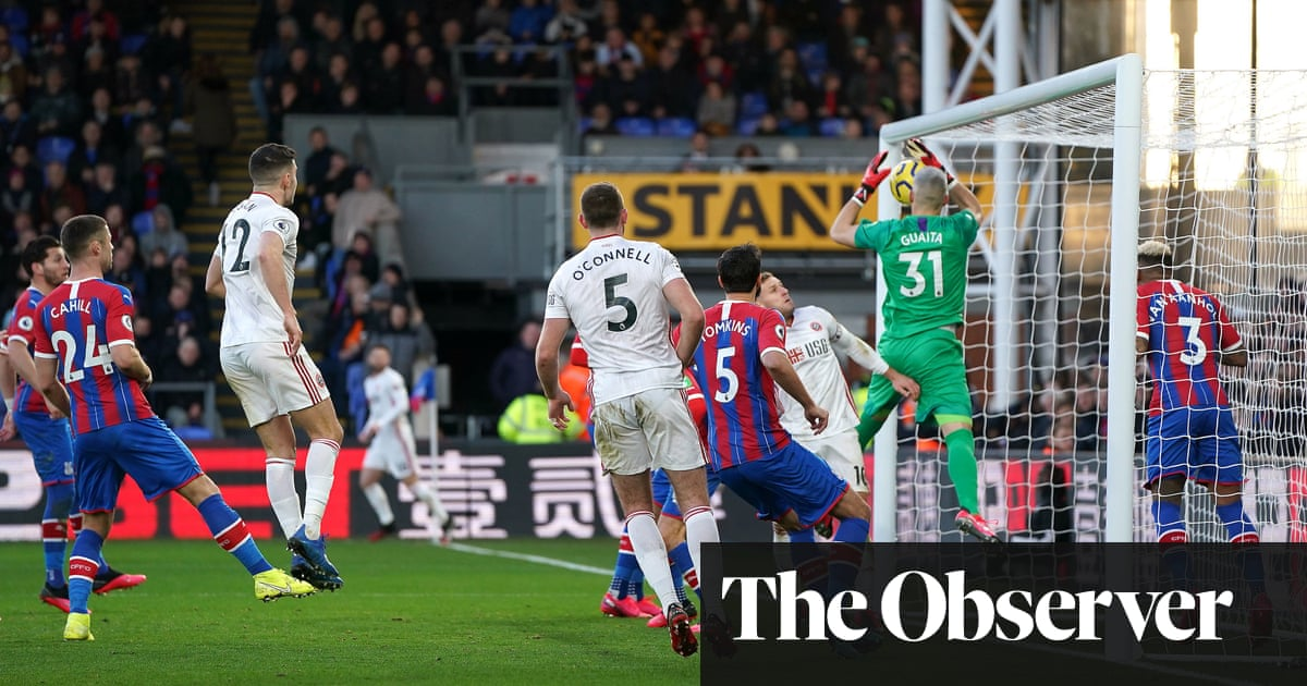Vicente Guaita own goal gifts Sheffield United win over Crystal Palace