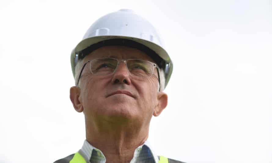 Australian Prime Minister Malcolm Turnbull .