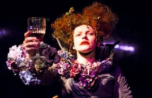 Maxine Peake in The Skriker by Caryl Churchill.