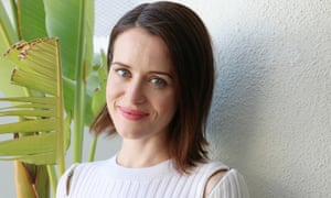 ER indoors … Claire Foy.