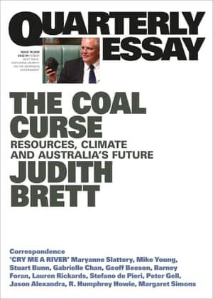 Cover image of the Quarterly Essay The Coal Curse