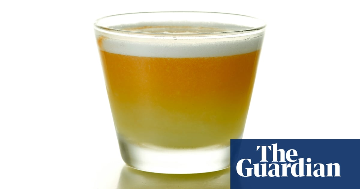 Cocktail Of The Week Classic Pisco Sour Recipe Cocktails The Guardian