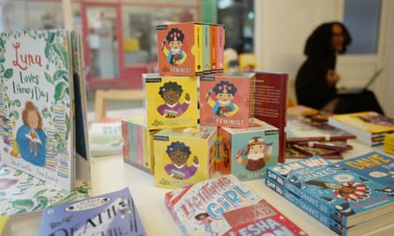 We've had a lot of kids coming in saying, 'Mum this is me, this is me.' … a display in #ReadTheOnePerCent bookshop.
