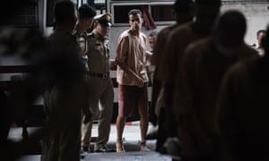 Hakeem al-Araibi arrives shackled at court