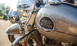 Motorcycle riders from all over the world attend the 115th Harley-Davidson anniversary celebration event at Vetrans Park in downtown Milwaukee, Wisconsin on Friday August 31st, 2018, one of many venues for the weekend long celebration.