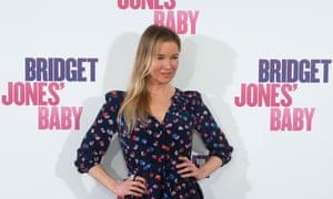 Renée Zellweger at the Spanish premier for Bridget Jones's Baby.
