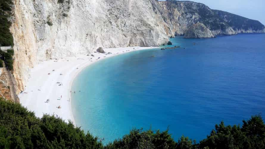 Lefkada beach. Omilo Greek and Culture trip