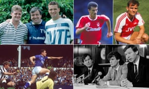 Paul Gascoigne and Paul Stewart join Terry Venables at Spurs; Ian Rush returns to Liverpool; Arsenal signing Steve Bould, Mark Hughes returns to Manchester United; Tony Cottee scores for Everton against Newcastle.