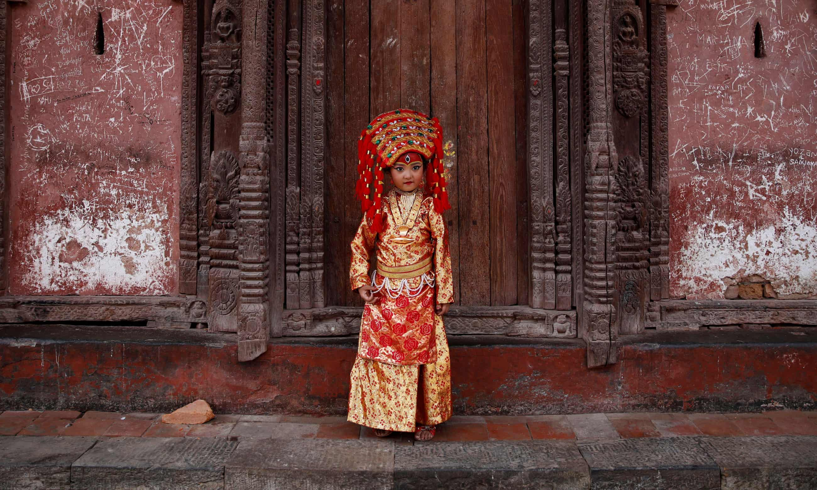 Nepal festival celebrates end of monsoon season – in pictures