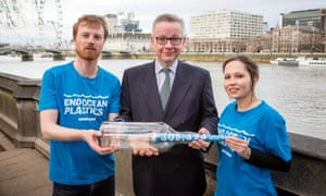 Greenpeace petition Michael Gove