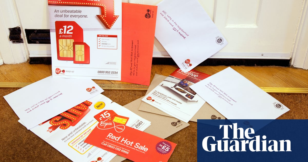 How do we get Virgin Media to junk all this mail? | Money