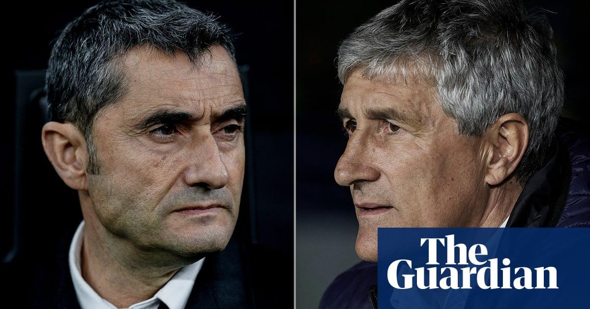 Barcelona appoint Quique Setién as head coach to replace Ernesto Valverde