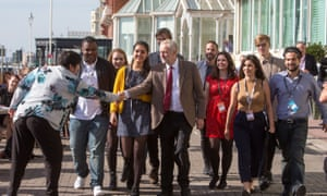 Jeremy Corbyn and young people