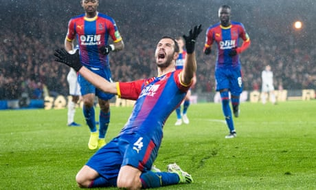 Luka Milivojevic's magic lifts Roy Hodgson as Palace edge Leicester