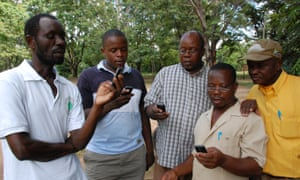 The project enables frontline health and veterinary workers in countries such as Tanzania to upload reports from mobile phones.