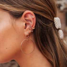 Ear jewellery from Astrid & Miyu