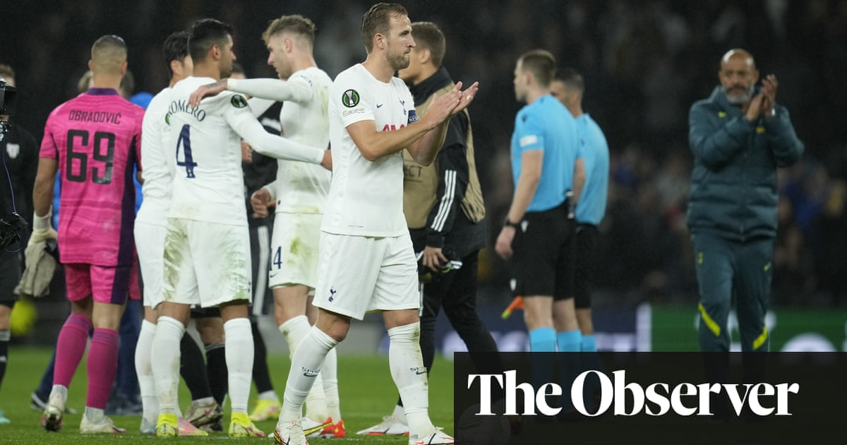 Nuno walking a high wire in attempt to lift Tottenham's malaise