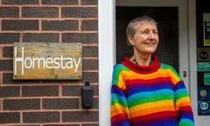Anne Francis runs a homestay in Norwich.