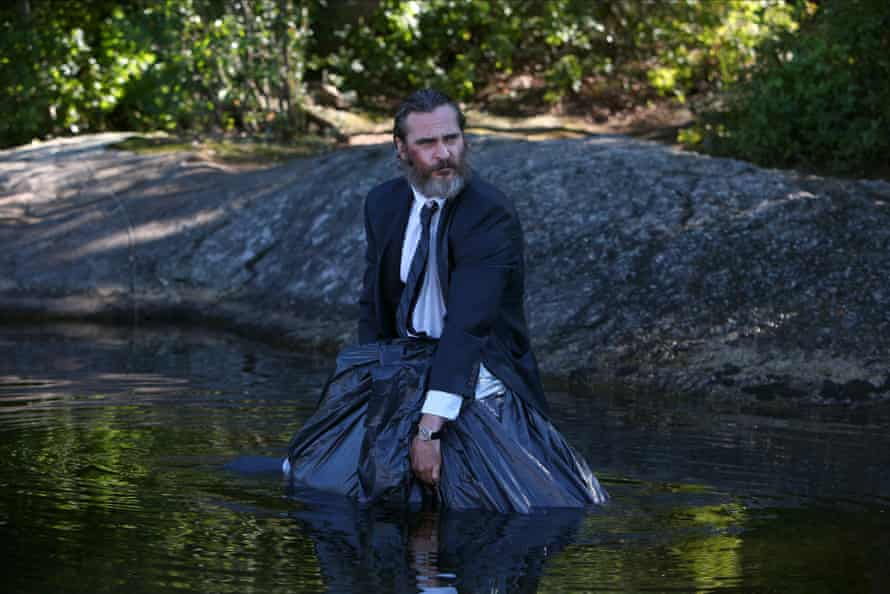 Phoenix in his new film, You Were Never Really Here.