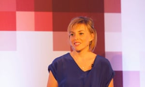 Amy Cole, Instagram's head of brand development for the EMEA region at the Guardian Changing Media Summit 2016