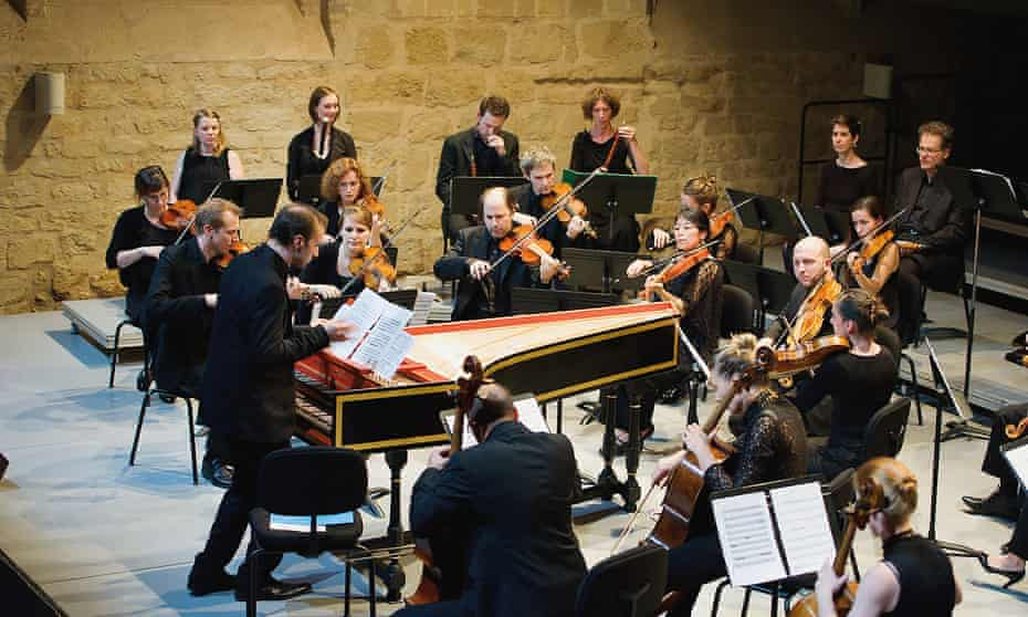 the period-instrument ensemble Le Caravenserail