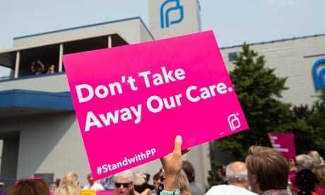 Planned Parenthood refuses federal funding after abortion referral bans – as it happened