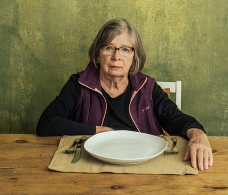 Author and journalist Barbara Ehrenreich at her home in Alexandria, Virginia on 2 March.