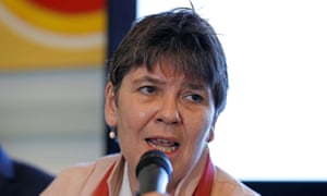 Claire Fox, one of the 'old cadres of the Revolutionary Communist party' and now a Brexit party MEP.