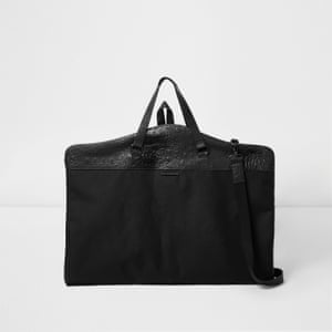 Suit carrier, £40 riverisland.com