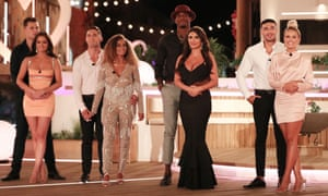An uneasy move ... Caroline Flack goes from Love Island to a show that makes people beg for attractiveness.