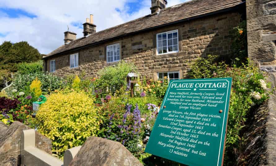 Eyam, Derbyshire, the 'plague village'