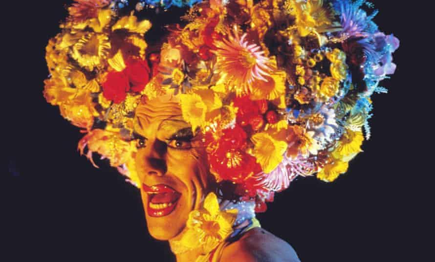 Hugo Weaving as Mitzi Del Bra in The Adventures Of Priscilla, Queen Of The Desert.