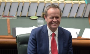 'What agenda has Shorten revealed that his movement would unreservedly commit to?'