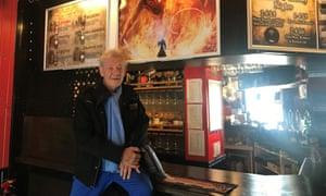 Ian McKellen at The Hobbit in Southampton.