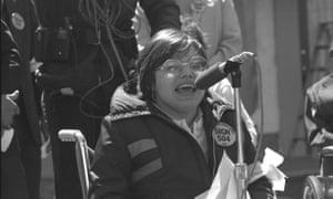 Judy Heumann in Crip Camp