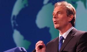 Tony Blair in 2003