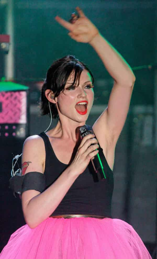 Sophie Ellis-Bextor on stage at a G-A-Y club night at the Astoria in Soho, London, in 2008