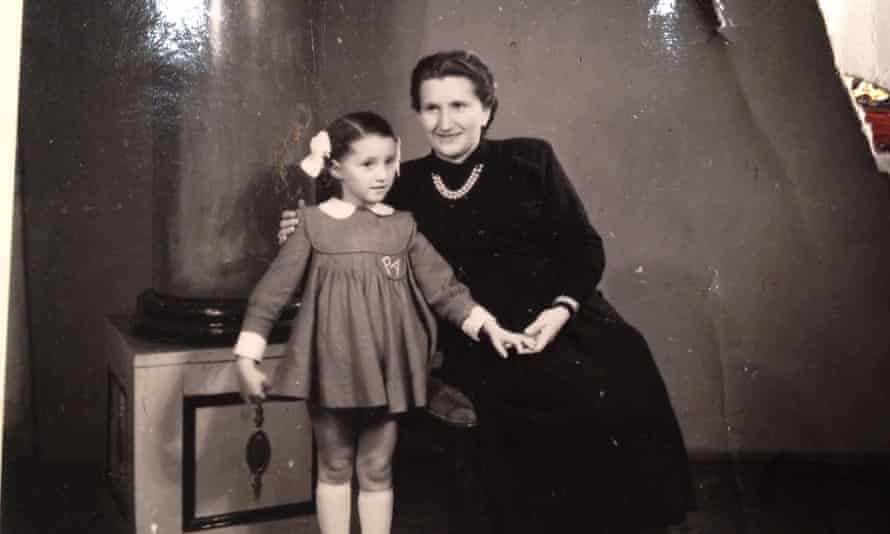 Angela Orosz, pictured with her mother.