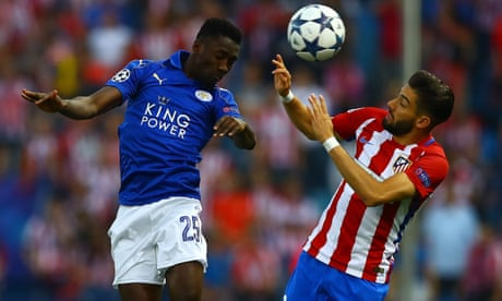 Leicester City v Atlético Madrid: Champions League quarter-final – live!