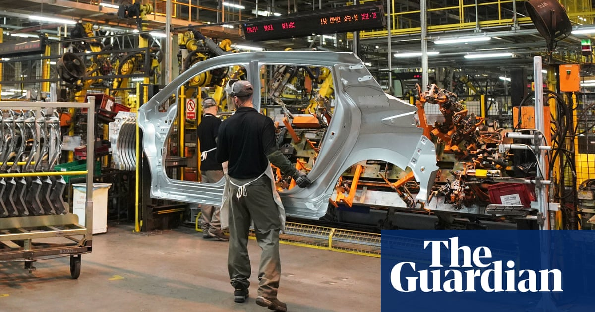British industry's output now at record growth levels