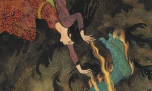 Playing with fire … a detail from The Princess Burns the Efrite to Death (1914) by Edmund Dulac.