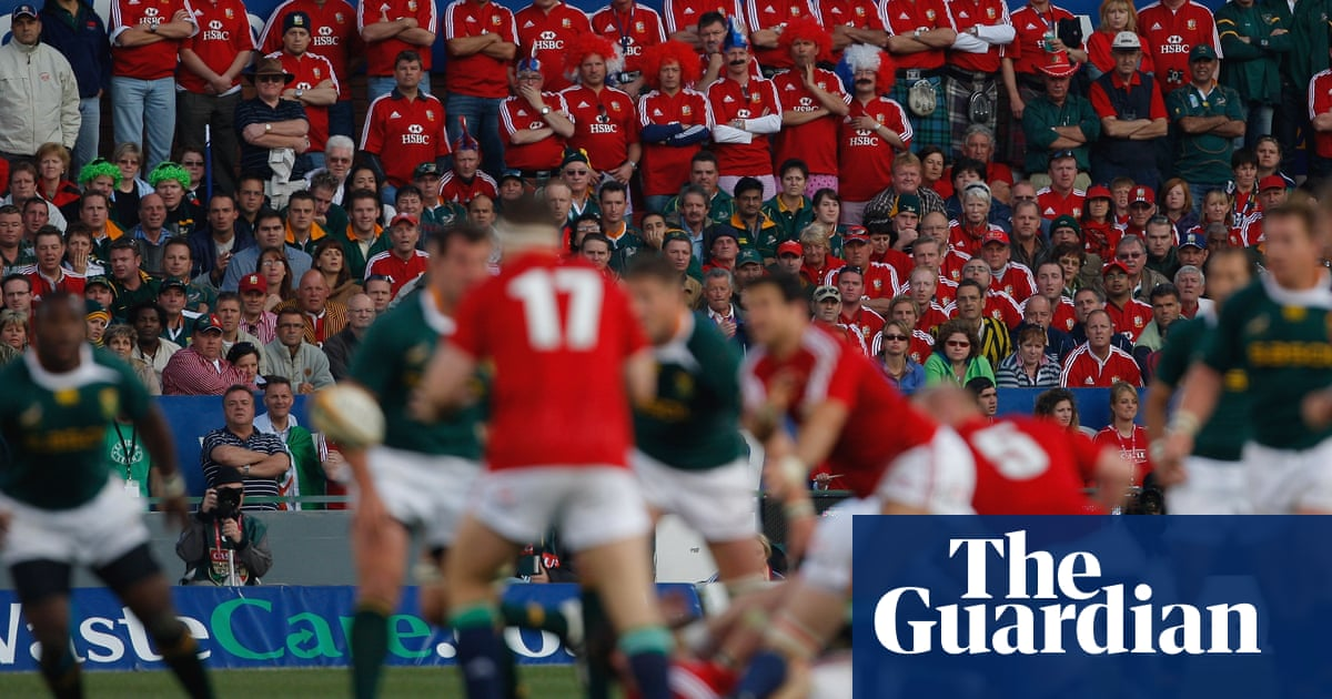 South Africa's rugby chief backs plans for fans to return for Lions Tests