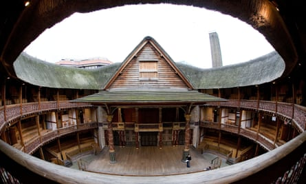 'More like being at a rock concert than a play' … Shakespeare's Globe, London.